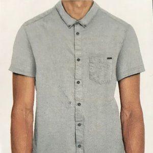 Mens Buffalo David Bitton s/s Chambray Shirt XXL